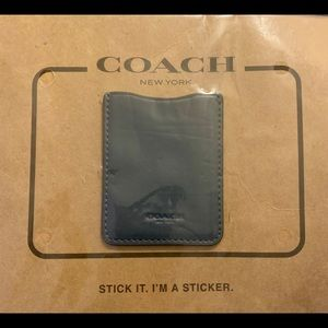 COACH STICKER. FOR PHONE ANYSIZE💕